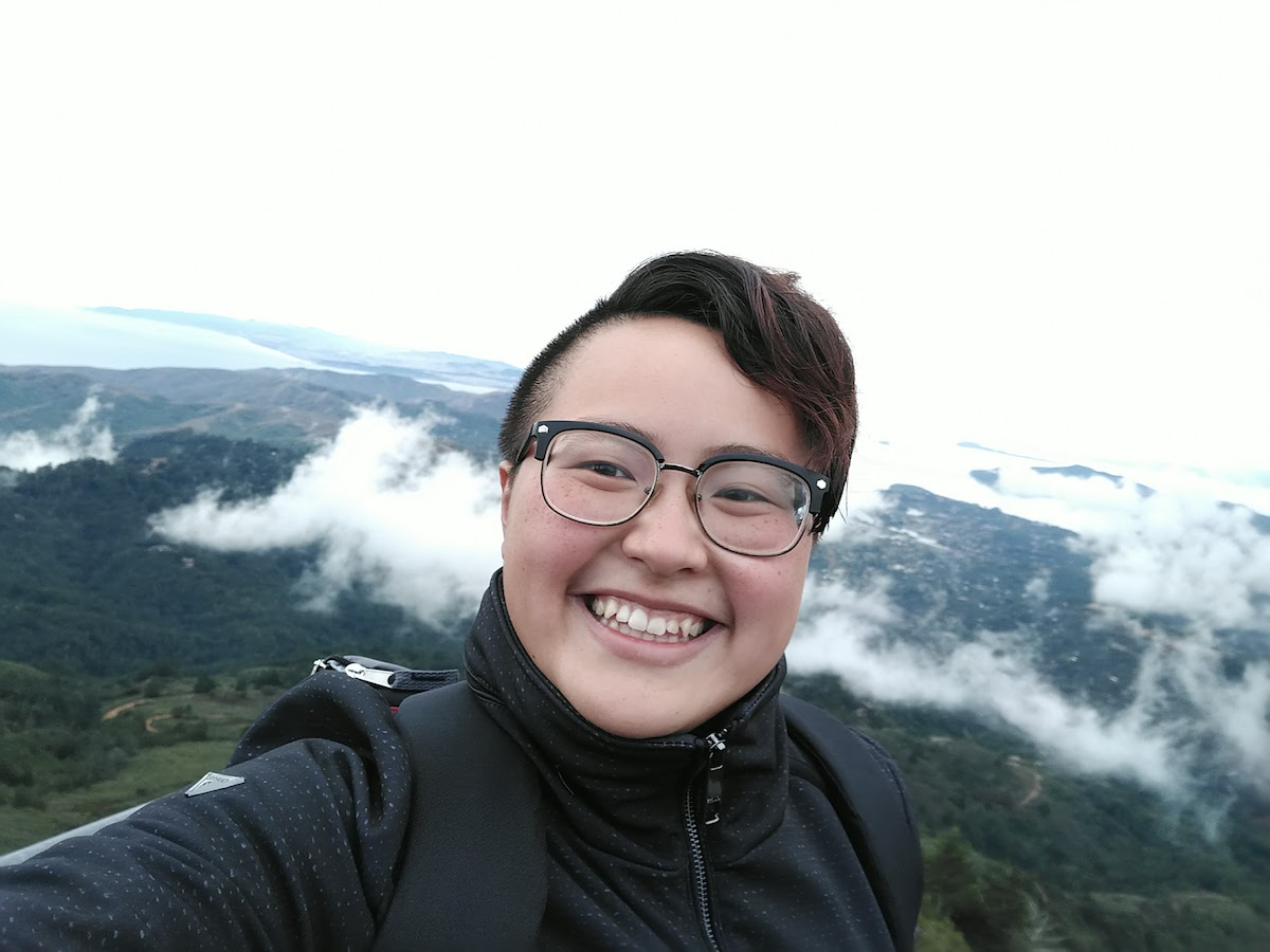 Xiaoxi Hiking Picture in Marin Smile